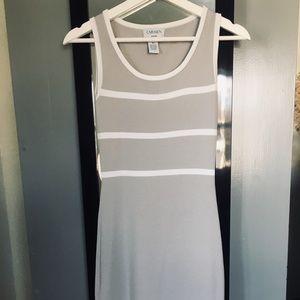 Carmen Marc Valvo knitted tank dress
